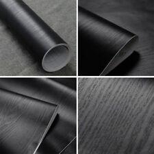 BLK Contact Paper Waterproof Vinyl Self-Adhesive Wallpaper Film Kitchen Cabinet