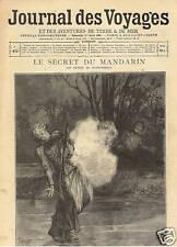 JOURNAL DES VOYAGE le secret du mandarin  la tarentelle