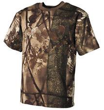 T-shirt MAX FUCHS BW Federale Camicia Felpa Manica Corta A Maniche Hunter-Braun