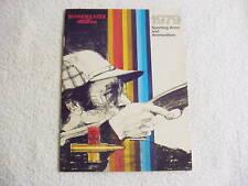 WINCHESTER WESTERN 1979 MINI CATALOG BROCHURE GUN AMMO