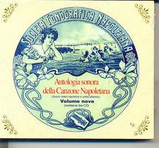 ANTOLOGIA SONORA DELLA CANZONE NAPOLETANA VOLUME NOVE BOX 3CD
