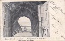 * TORINO - Festeggiamenti di Porta Susa - Piedigrotta Torinese 1902
