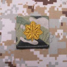 Multicam Black Design U.S.ARMY Rank Military Embroidery Patch Insignia