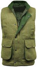 Para Hombre Chaleco Chaleco Hereford Luz Sage Tweed Caza Pesca Tiro Chaleco