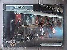 Modellismo Ferrovie RIVAROSSI Le ferrovie in miniatura HI FI Catalogo 1983 Libro