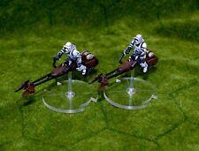 Clear Acrylic Bases for Star Wars Legion FFG