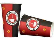 Kaffeebecher 0,2l Papier Pappbecher 200ml Kaffee Einweg Coffee to Go Becher Cup