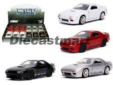 Jada 1:32 JDM Tuners 1985 Mazda RX-7 FC Red/ White / Silver/ Black Display Car