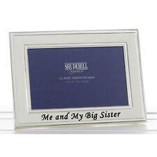 Me & My Big Sister Christening Gift Present New Born Child Photo Frame Birthday