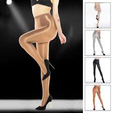 Ladies High-Glossy Pantyhose Tights Elastic Oil Shiny Stocking Hosiery Plus Size