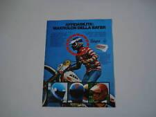 advertising Pubblicità 1980 MOTO KTM e MAKROLON
