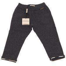 8695Q jeggings grigio bimba BURBERRY pantaloni kids children pants trousers