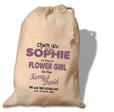Personalised Flower Girl Gift Bag -  Various Sizes - Georgia Design