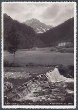 BERGAMO SCHILPARIO 10 VALLE di SCALVE Cartolina FOTOGRAFICA