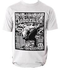 Godzilla Camiseta Retro Clásico S-3XL