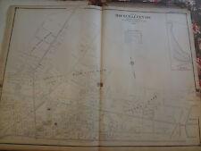1906 North Rockville Centre Long Island Nassau Atlas Map Lirr Rail Road