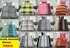 ropa de cama microfibras conjunto 135x200 cm cuadros rayas 2 - Set 4 Piezas