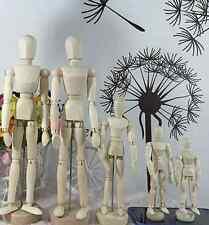 Artist Movable Limbs Wooden Figure Jointed Model Mannequin Art Class Sketching