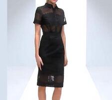 NWT $140 Designer ASOS PREMIUM Pencil Shirt Dress in BRODERIE - Pure Cotton