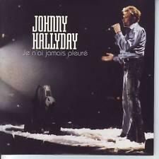 CD JOHNNY HALLYDAY je n'ai jamais pleuré*personne d'aut