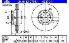 2x ATE Bremsscheiben vorne belüftet 296mm Für LEXUS IS GS SC 24.0132-0701.1