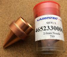 Mazak Turbo 10kW Laser Nozzle 2.0mm Lasertec ATTC 46523300063  Multi Qty