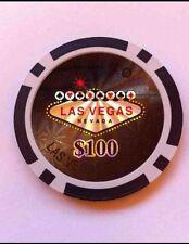 LAS Vegas Casinò Poker Chip Golf Ball Marker Card Guard Torta Decorazione Nuovo
