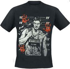 Heartless - WANTED T WALKER KILLER - Mens T-Shirt Zombie, Horror, Undead,