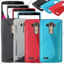 Housse Etui Coque Silicone Motif S-line Gel Souple LG G4 H815, Dual LTE