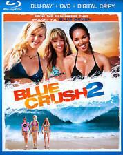 Blue Crush 2 (Blu-ray/DVD Combo + Digital Copy), New Disc, Sasha Jackson, Elizab