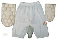 getpaddedup Ultimate Cricket Batting Shorts : Padman Shorts : Size Boys to 3XL