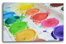 Nouvelle annonce Mural Boîte de couleur de l'eau comme une Suvre d'art, peinture murale décorati