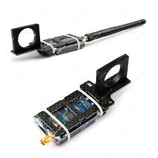 FPV AV Sender Carbon Halterung f Rohre Audio Video Transmitter Schellen clamp