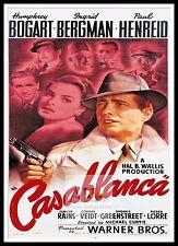 Casablanca 3  Poster Greatest Movies Classic & Vintage Films