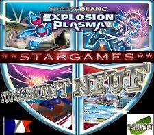 POKEMON NOIR & BLANC EXPLOSION PLASMA (◕‿◕✿) SHINY / TECH / REVERSE / COM PAR 2