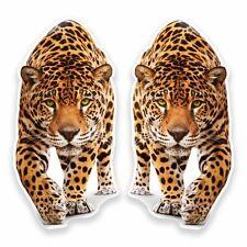 2 x Jaguar Panther Vinyl Sticker Car Travel Luggage #9645