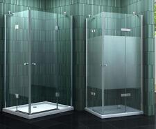 NEOTEC Glas Duschkabine Eckeinstieg Dusche Duschwand Duschabtrennung