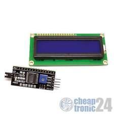 LCD 1602 BLU hd44780 i2c interface display visualizzazione schermo Arduino Raspberry