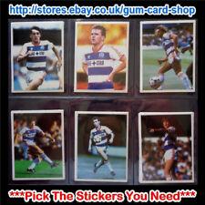☆ DAILY MIRROR 1986-87 bastone con calcio (Queens Park Rangers) * selezionare gli adesivi *