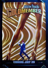 AUSTIN POWERS * GOLDMEMBER CINEMASTERPIECES ADVANCE DS 1SH ORIGINAL MOVIE POSTER