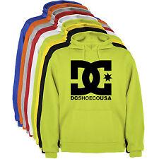 Sudadera Capucha DC logo Letras Hombre colores y tallas