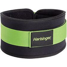 """Harbinger 232 Women's 5"""" Foam Core Weight Lifting Belt - Green"""