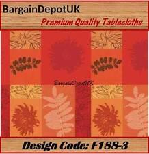 PVC Vinile pulire TABLECLOTH tutte le taglie-Design CODE: f188-3
