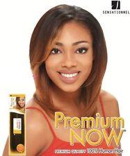 Sensationnel 100% Human Hair Premium NOW New Yaki Platinum Weaving Extension