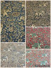 SMD iLiv Indira (Elefanti) tessuto di cotone, Tappezzeria/Tende/Cuscini o Crafts
