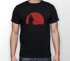RUROUNI Kenshin Samurai X moon anime manga T-Shirt Unisex T-shirt Tee Tutte le Taglie