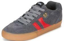 Zapatillas Skate Hombre Globe Zapatos ENCORE 2 Gris Carbón Goma Rojo Schuhe