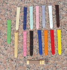 16mm woman ladies Genuine Leather watch Band Strap Interchangeable Folli Follie