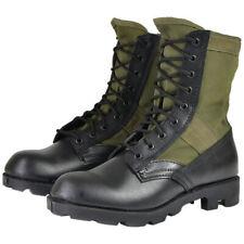 Mil-Tec Assault bottes de combat militaire US Army Panama Jungle Boots Vert 5-13