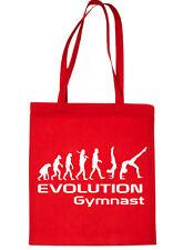 Evolution Of Gymnast Gymnastics Shopping Tote Bag Ladies Gift